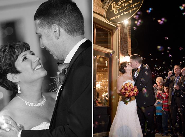 Butlers Courtyard - Houston wedding photogrpahy