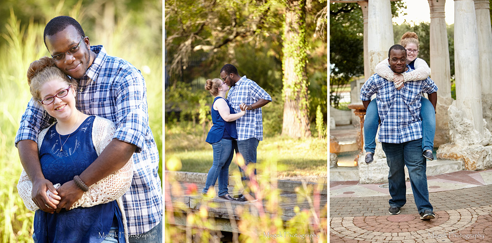Magek Photography Hermann Park Engagement Pictures-cover