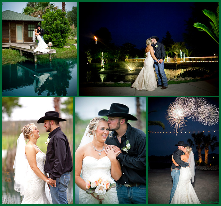 Micheal and Lindsey's wedding at Hidden Palms in Sante Fe TX