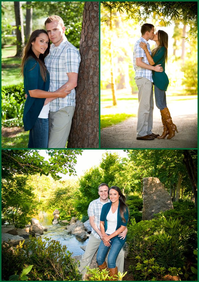 Nathan And Amy Engagement Pictures At Japanese Garden