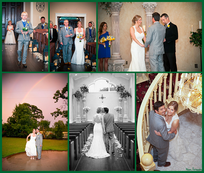 Rusty and Crystal's wedding pictures at Ashlyn Manor
