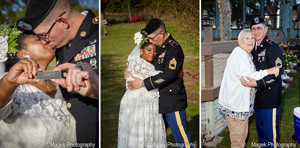 John And Samantha S Wedding At Las Brisas Farm Weddings For Warriors